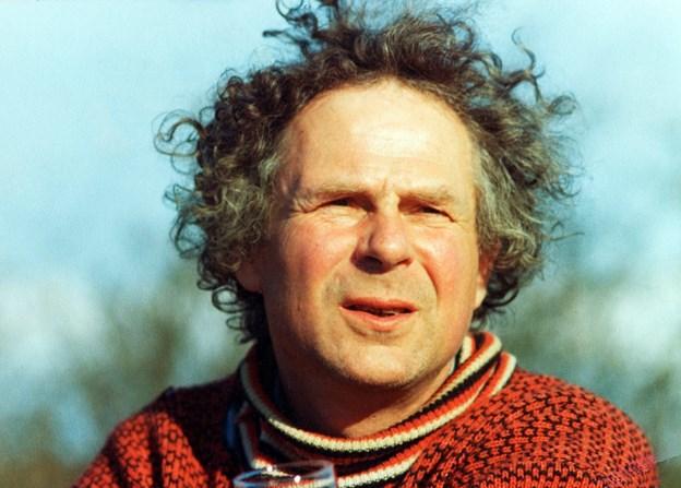 Forfatteren Peter Seeberg - der døde i 1999. Arkivfoto.