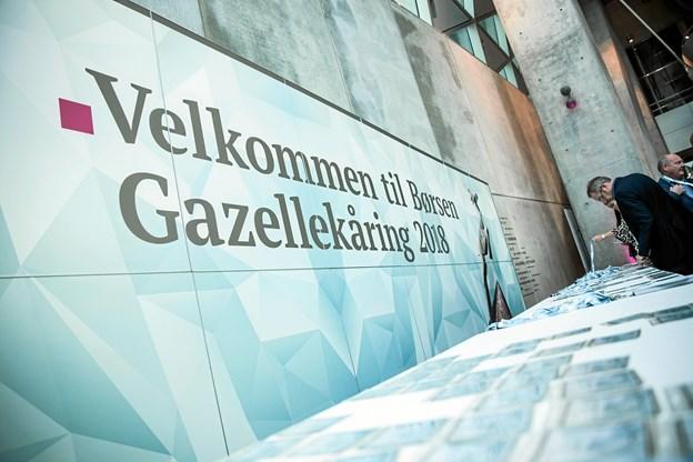 Årets Børsen Gazelle-kåring fandt sted regionalt i Aalborg 31. oktober i Musikkens Hus, og hér var to gazellerfirmaer fra Skagen   Foto: Børsen.