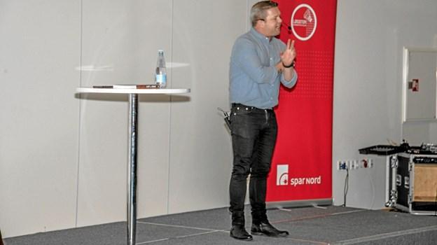 """En sjov og morsom fortæller, hvor programmet """"rigtige mænd"""" fik rigtigt stor betydning. Foto: Mogens Lynge Mogens Lynge"""