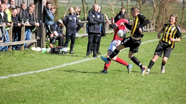 Det var en rigtig herre fight. Foto: Flemming Dahl Jensen Flemming Dahl Jensen