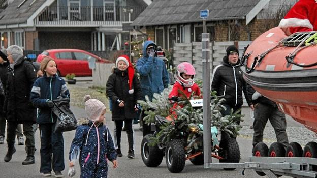 Denne ATV var bestemt smuk pyntet. Foto: Hans B. Henriksen Hans B. Henriksen