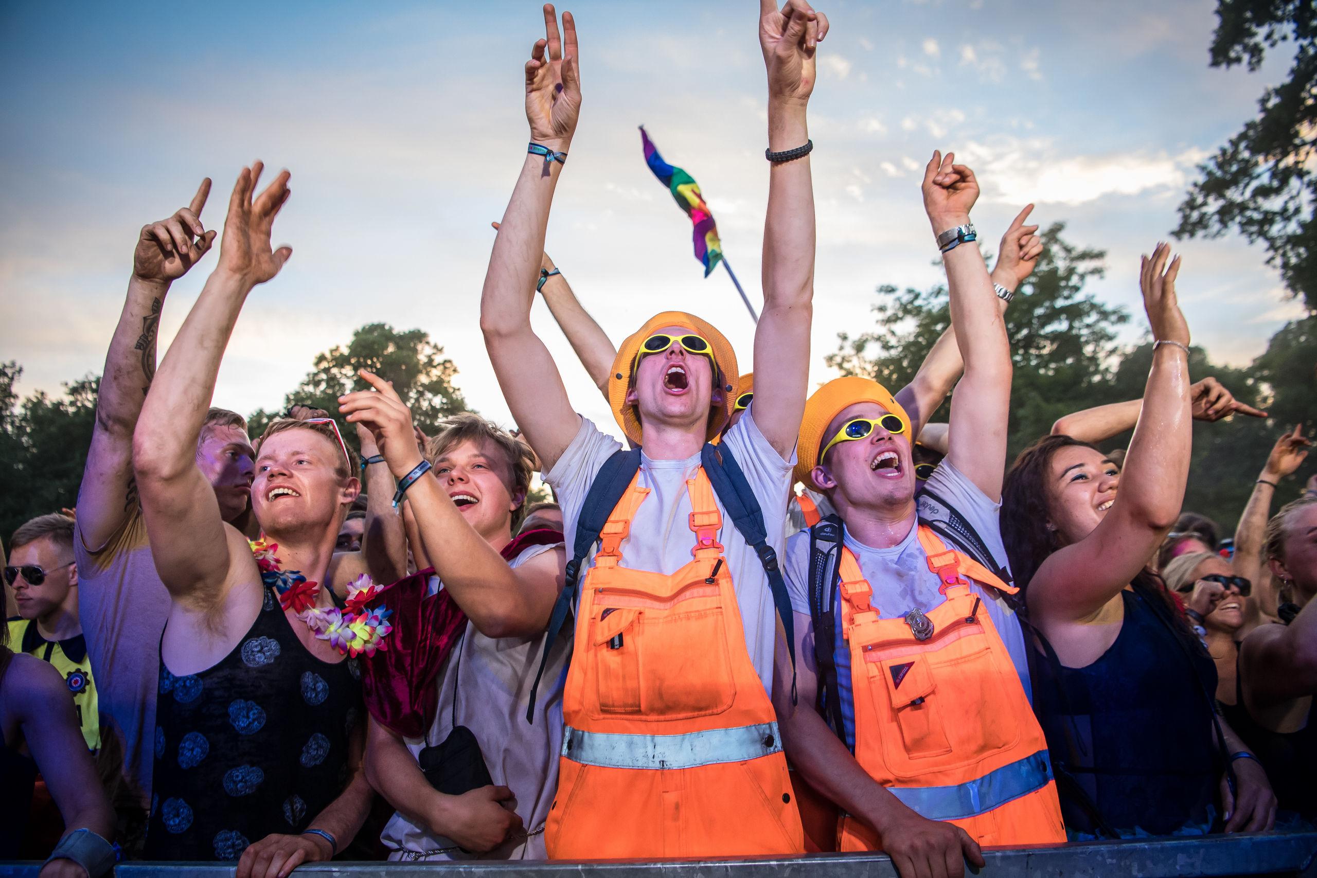 Der bliver endnu mere fest i Kildeparken i år, når karneval får en ny scene med lokale djs. Arkivfoto: Martin Damgård