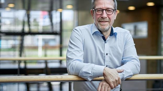 Cheføkonom Jens Nyholm fra Spar Nord i Aalborg. Foto: Henrik Bo