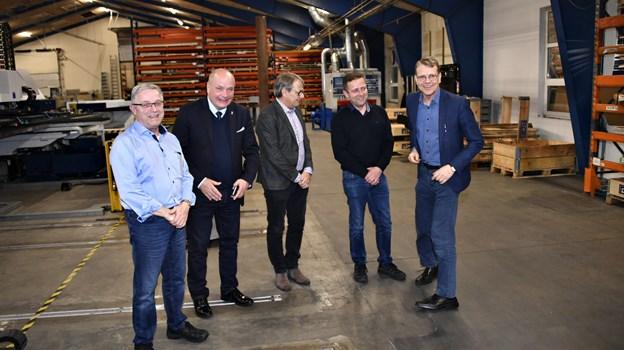 EU møde og virksomhedsbesøg i Klokkerholm.Foto: Kurt Bering Kurt Bering