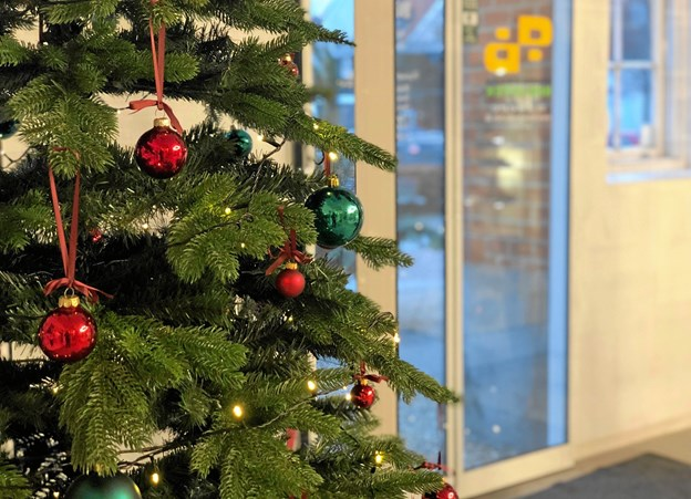 Det er muligt at benytte selvbetjeningsåbningstiden i julen.Privatfoto