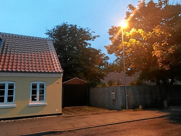 """I Skagen midtby har der været ønske om at få en """"varmere"""" og gullig gadebelysning.Privatfoto"""