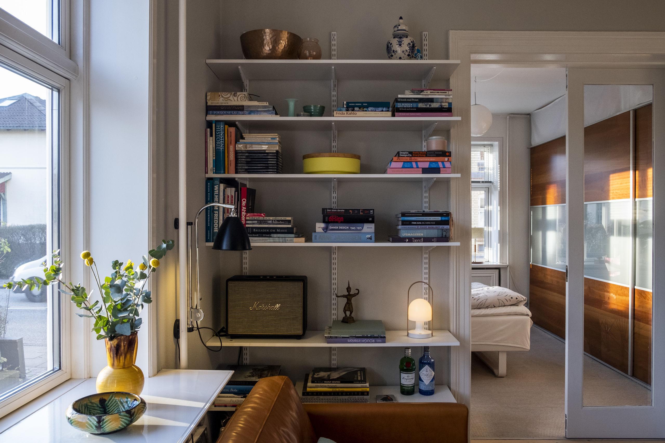 Der er styr på stilen i Anita Wodstrups eget hjem. Foto: Lasse Sand