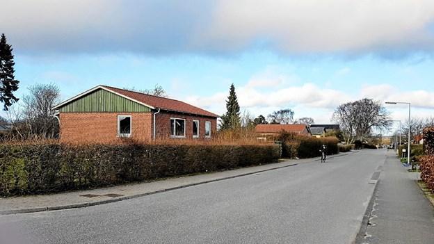Bakkedraget 15 og Gl. Viborgvej 30 erstattes af to dobbelthuse. Foto: Karl Erik Hansen Karl Erik Hansen