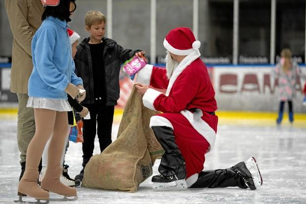 Julemanden kom også
