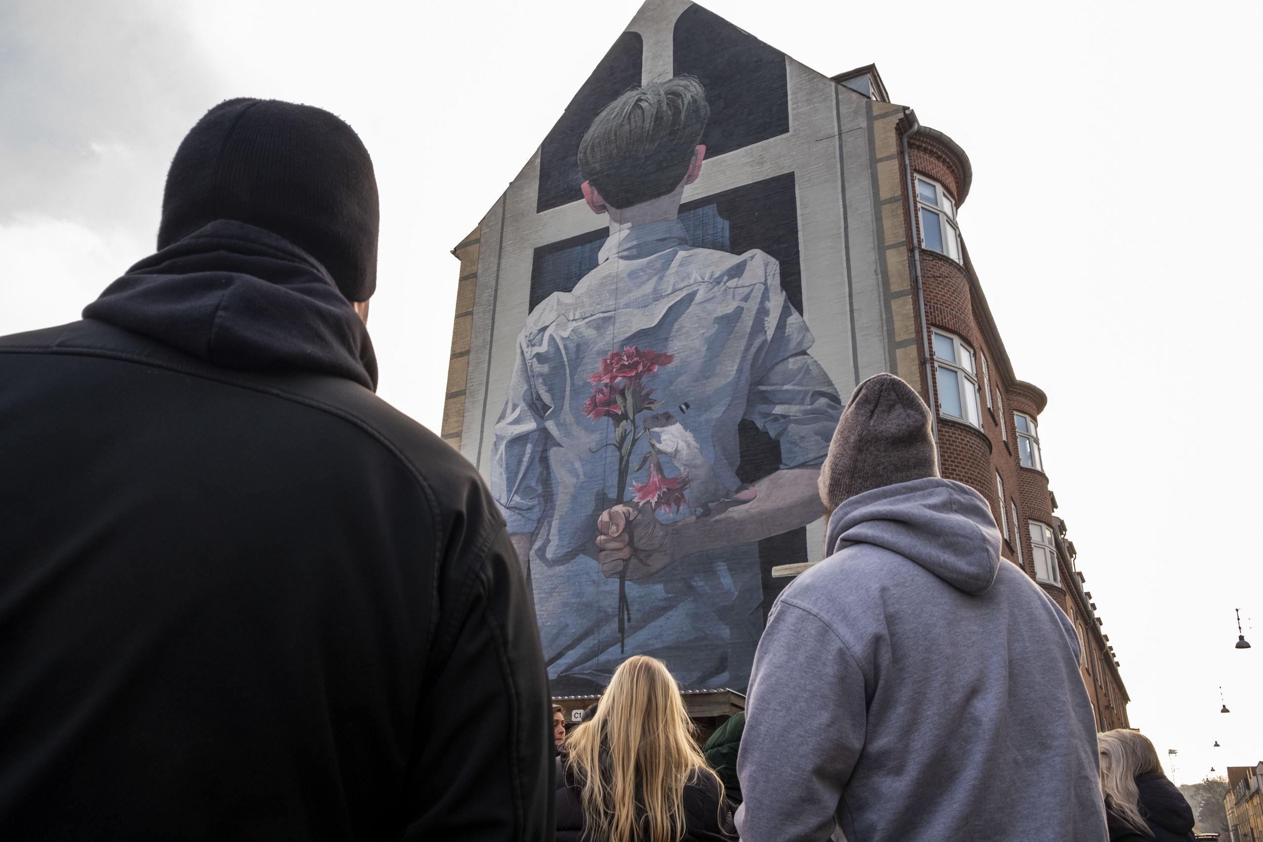 Kom du ikke med? Se billeder fra unik Street Art Walk