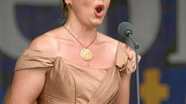 Elsebeth Dreisig - synger søndag operaarier på Buderupholm Hovedgaard. PR-foto