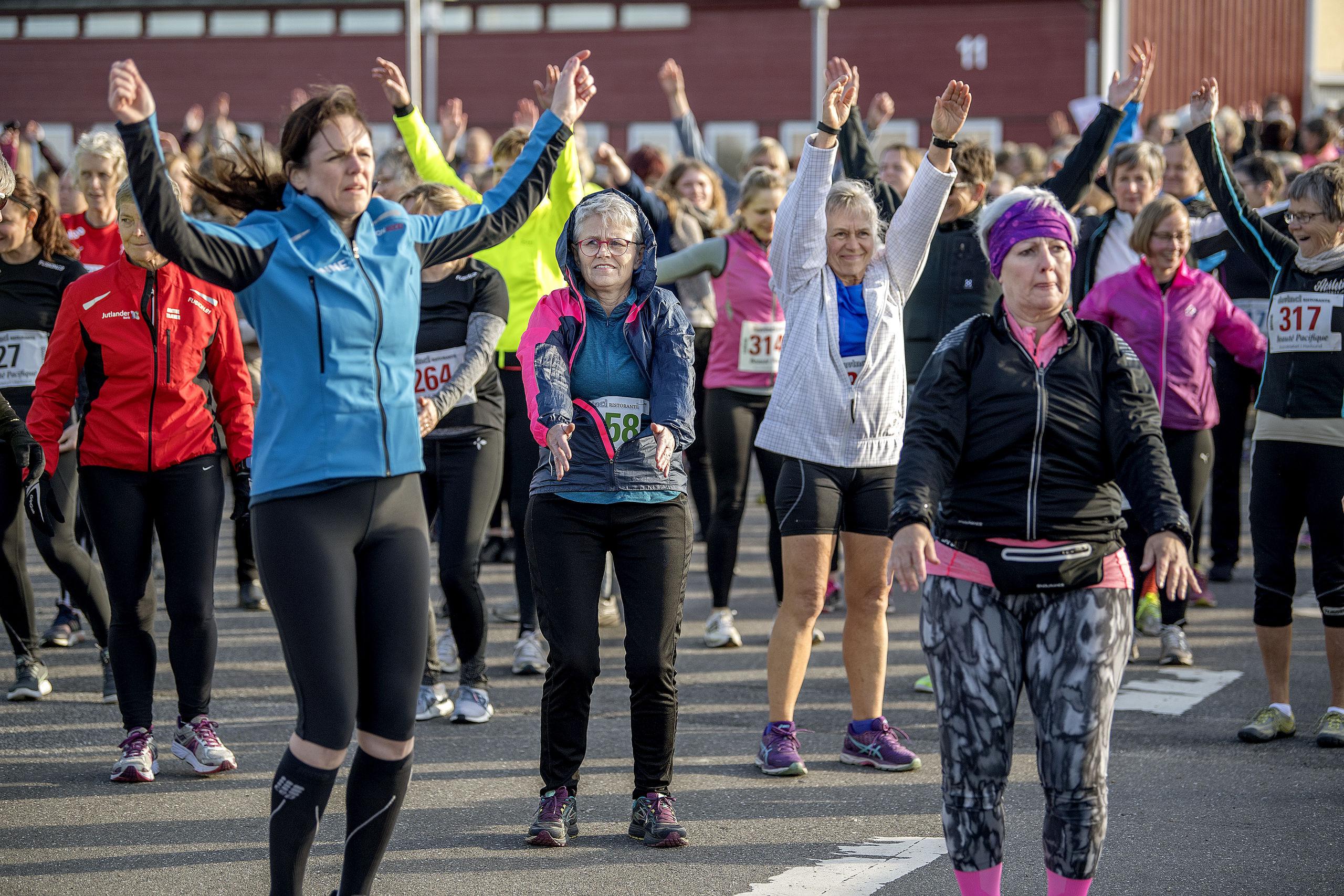 ALT for damernes Kvindeløb starter med opvarmning og foredrag med sundhedseksperten Michelle Kristensen. Arkivfoto: Lars Pauli