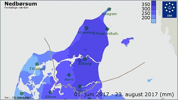 Regntid I Nordjylland Hanbobladetdk