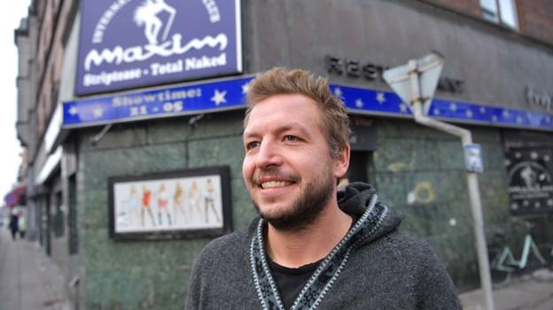 Mads Lilholt besidder et ægte entrepreneur-hjerte, og han har mod på og lyst til at etablere en spændende og nyskabende cocktailbar med mega fokus på et folkeligt koncept. Foto: Claus Søndberg
