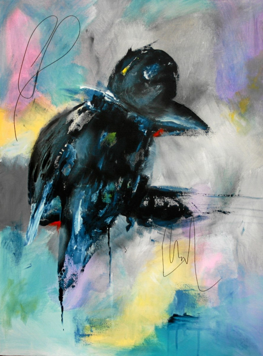 Fuglen med den skæve tåPrivatfoto