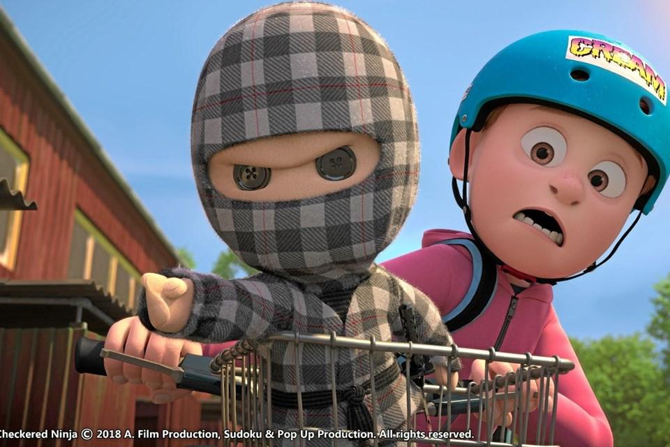 Tirsdag vises Ternet Ninja. Foto: Presse