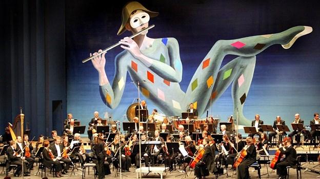 Blæsere fra Aalborg Symfoniorkester kommer til Hirtshals og spiller kammermusik Arkivfoto Torben Hansen