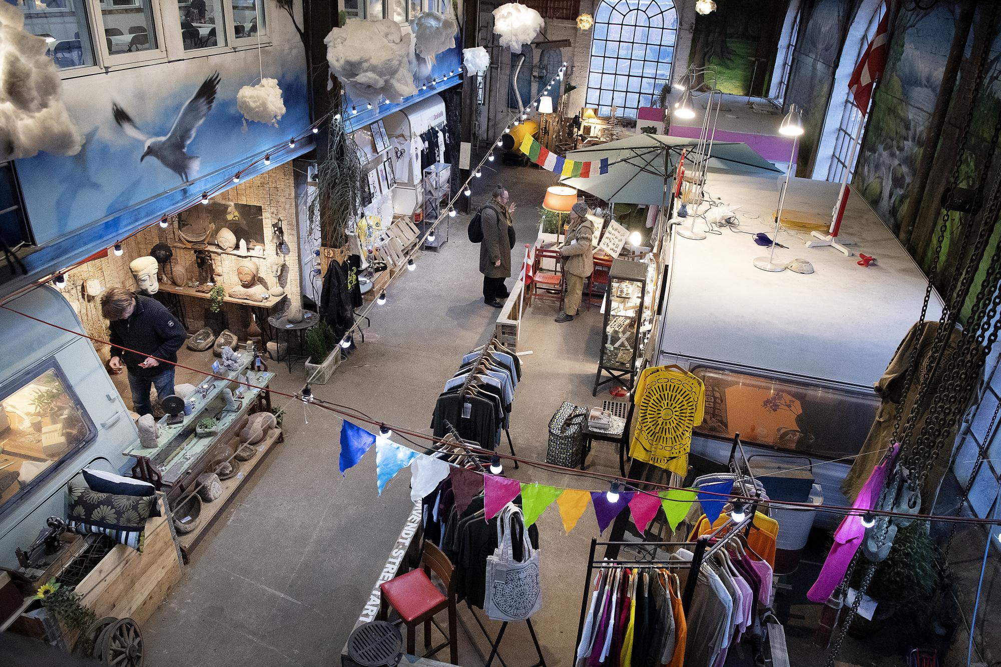 Kreativ markedsplads: Urban City satser på masser af aktiviteter