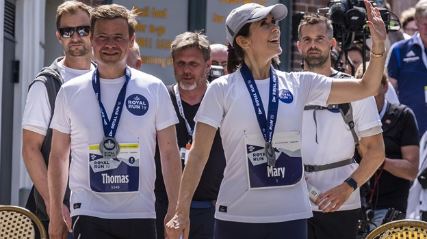 Borgmester Thomas Kastrup-Larsen løb også med til årets Royal Run. Foto: Lasse Sand
