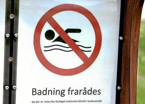 Badning frarådes på strand i Hirtshals på grund af for mange afføringsbakterier i vandet. Arkivfoto: Henrik Louis