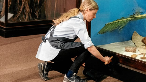 Hun startede med at samle kunststøv på The Field Museum i  Chicago. Privatfoto