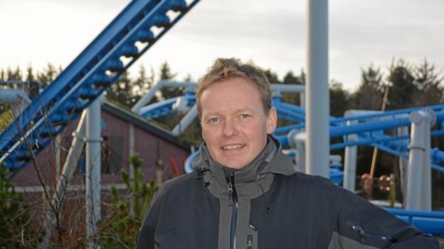 Niels Jørgen Jensen vender tilbage til Fårup Sommerland.Pressefoto