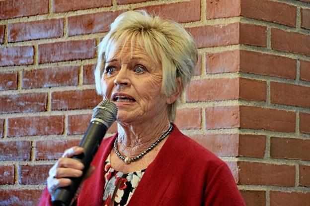 Hilda Heick fortalte bredt om sit liv. Foto: Hans B. Henriksen