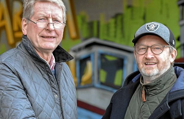 Niels Persson og Jens Ole Amstrup har nu cementeret samarbejdet med en formel aftale.