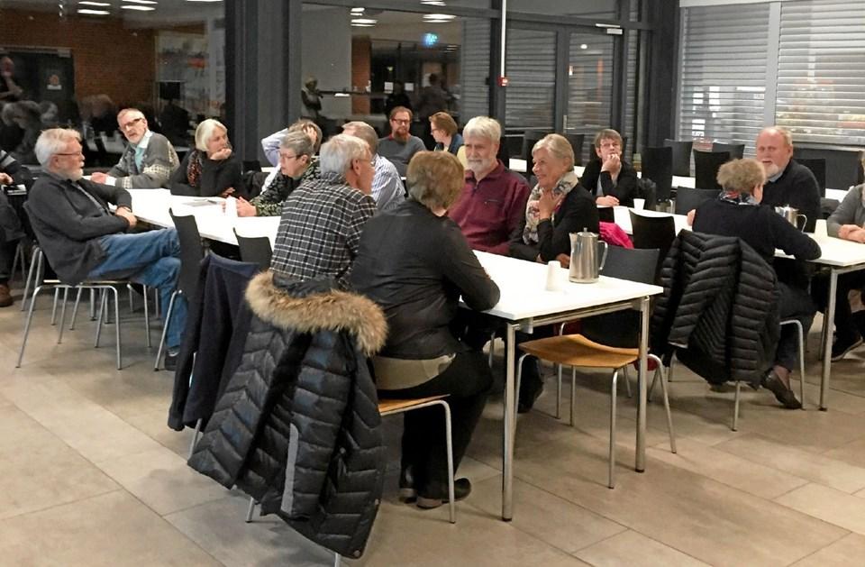 Hjerteforeningen Brønderslev har netop afholdt generalforsamling på Brønderslev Gymnasium. Privatfoto