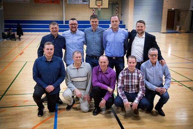 Team Fedtfri og Team Kalle tog første- og andenpladsen i Tårs taber sig, og deltagerne har kæmpet skulder ved skulder. Foto: Torben Hansen Torben Hansen
