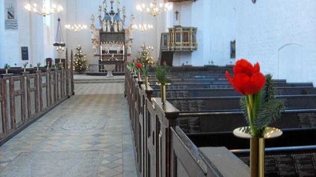 Mariager Kirke kommer 5. december til at genlyde af kendte og elskede engelske Christmas Carols mv. Privatfoto