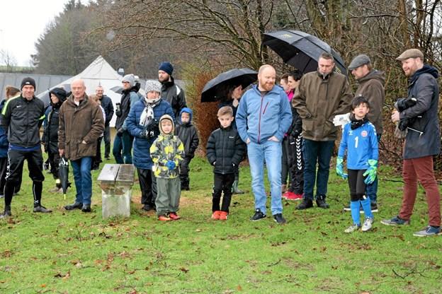 Mange forældre var også fulgt med. Foto: Flemming Dahl Jensen Flemming Dahl Jensen