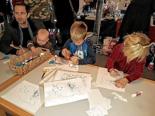 Børnenes fristed midt i alt juleriet. Foto: Karl Erik Hansen Karl Erik Hansen