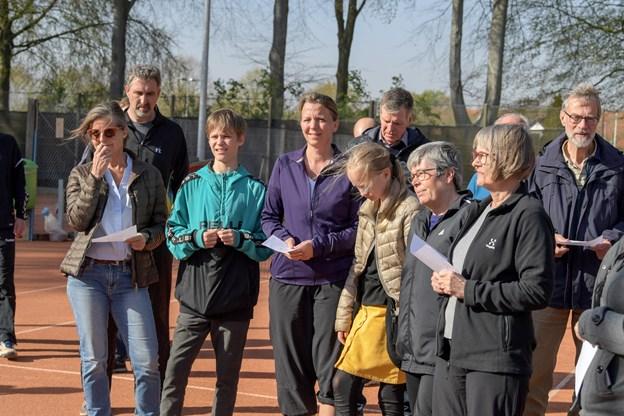 Der er mange muligheder for at spille tennis i Brønderslev. Foto: Henrik Louis HENRIK LOUIS