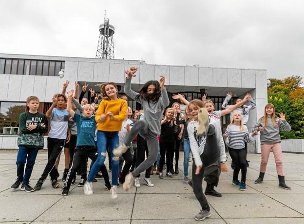 Det er børn mellem otte og 12 år, der er målgruppe. Foto: Niels Fabæk
