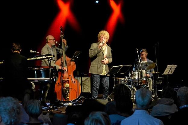 Frokostjazz har budt på flere store vokalister, bl.a. Cæcilie Norby, Sinne Eeg og Allan Mortensen. Privatfoto Privatfoto
