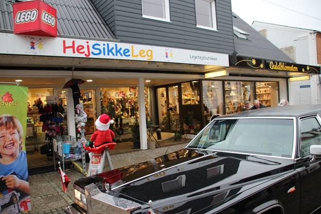 Sidste stop på turen var Hej Sikke Leg. Foto: Hans B. Henriksen