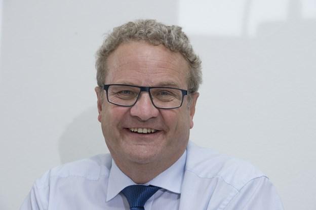 Preben Bang Henriksen fortæller om sit liv som folketingsmedlem og advokat. Arkivfoto: Grete Dahl