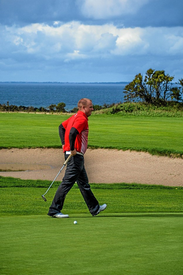 Dansk mester 2018 blev verdens nr. 4 Lasse Emil Nielsen fra Dronninglund Golfklub. Foto: Mogens Lynge
