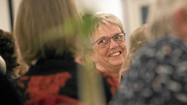 90 kvinder hyggede sig til fredagens venindeaften på Gæstgivergaarden. Foto: Allan Mortensen Allan Mortensen