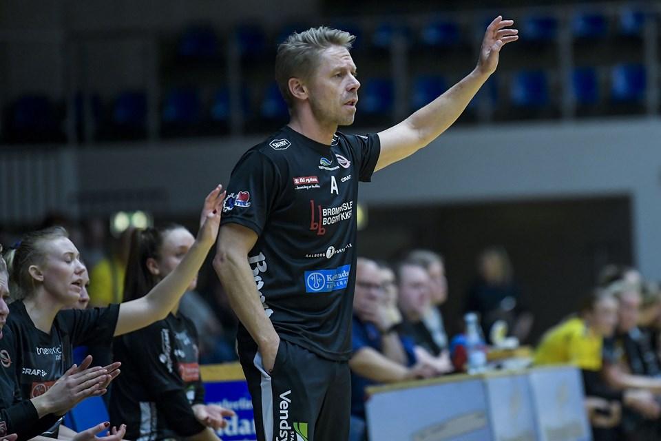 Foto: Lars Pauli Frederikshavn (Empire) Vendsyssel Håndbold møder Horsens i damernes 1. division i håndbold.
