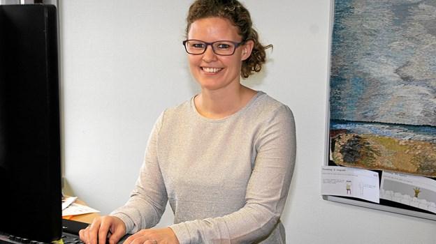 Fritidskonsulent Rikke Vandvig Heinen fra Jammerbugt Kommune er med til at være tovholder på Tour de Jammerbugt 2019. Foto: Flemming Dahl Jensen