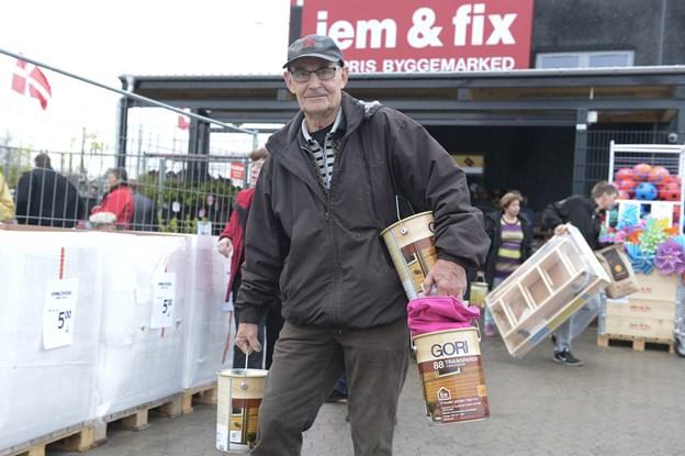Jem og Fix åbner hvert år flere nye butikker. Billedet er fra Jem og Fix i Støvring. Arkivfoto: Grete Dahl.