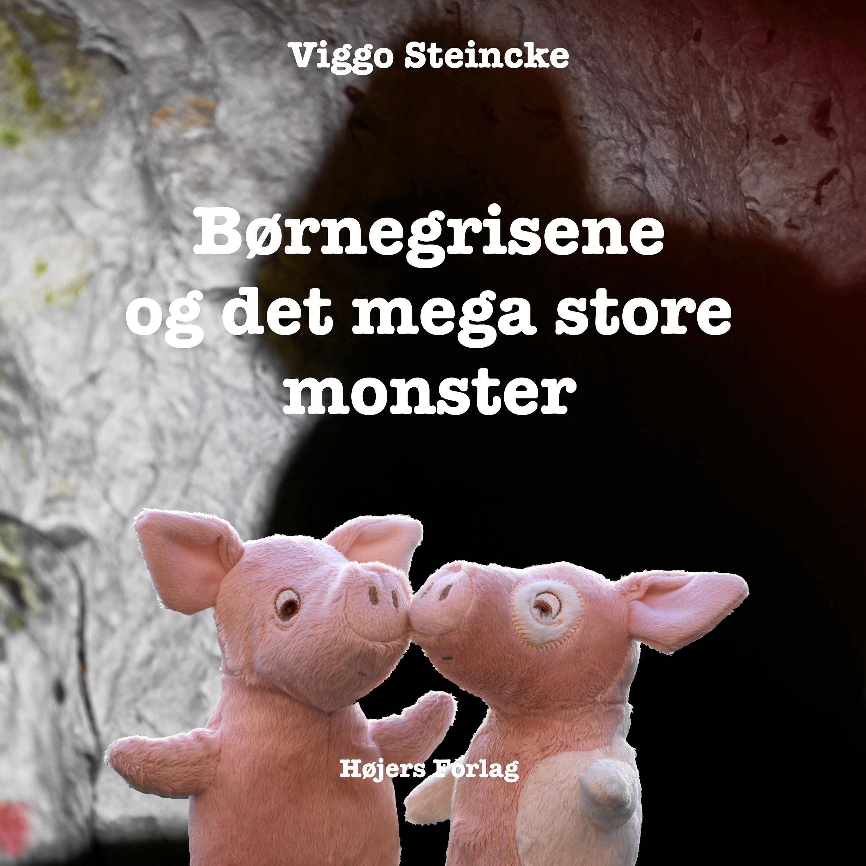 """Titlen på den nye bog er """"Børnegrisene og det mega store monster"""", og bogen udkommer torsdag den 15. november på Højers Forlag. Privatfoto"""