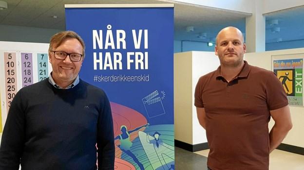 Bjarke Dyhr Lynnerup fra Kultur- og Fritidsudvalget var vært på lokaltopmødet i Aalbæk. Foto: Ole Svendsen