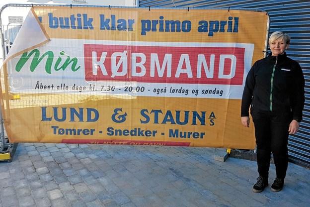 Mette Klitgaard har været købmand i Godthåb siden 2015. Foto: Karl Erik Hansen Karl Erik Hansen