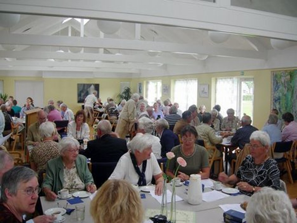 Der var mange gæster i Sindals sognegård forleden.
