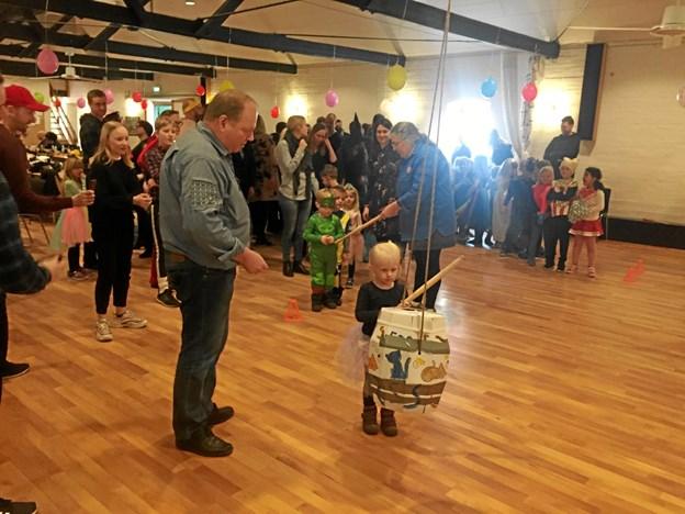 130 børn og voksne deltog i arrangementet. Privatfoto