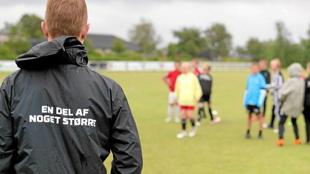 VHG var mandag til fredag vært for en af DBU's populære fodboldskoler. Foto: Allan Mortensen Allan Mortensen