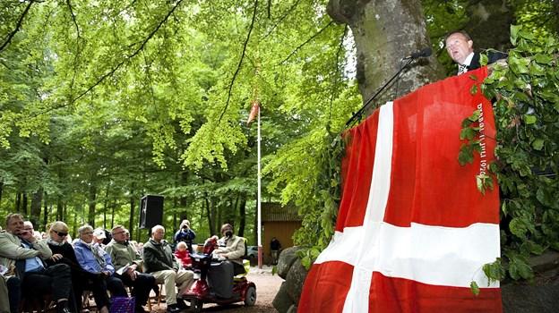 Lars Løkke Rasmussen har tre gange tidligere været på talerstolen i Terndruplundfonden, nemlig i 2012, 2009 og 2005. Arkivfoto: Claus Søndberg